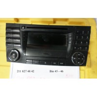 2118274842 Radio Stereo CD Cassette Player OEM